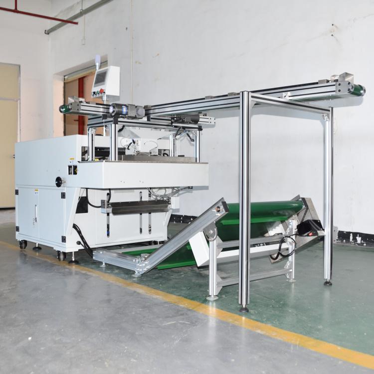 包装机与光学检测筛选机应用